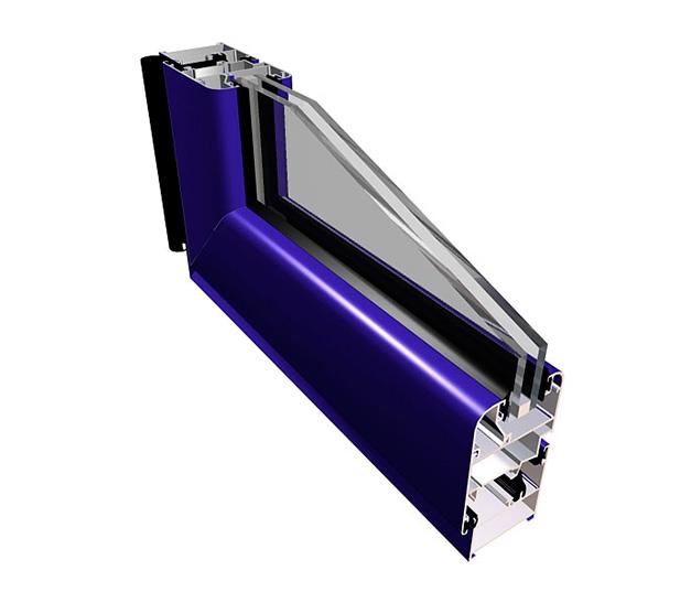 ventana aluminio practicable de 40 mm S-350 Eur_1