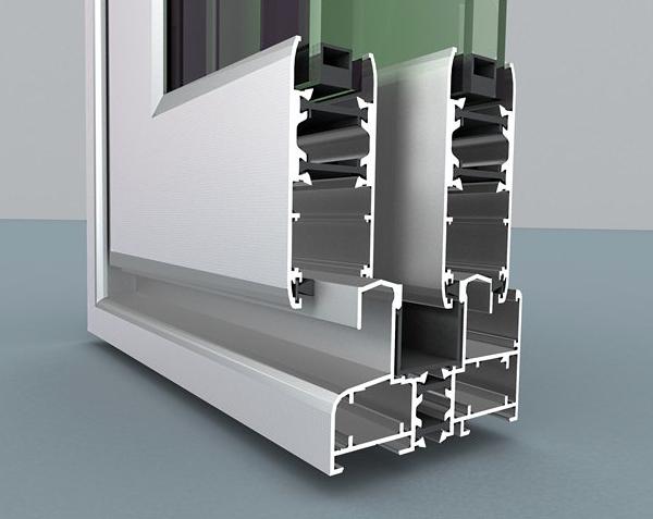 ventana corredera de 76 mm con RPT