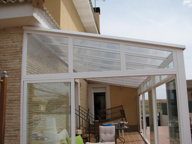 Techos de policarbonato ams cerramientos - Techos de aluminio para patios ...